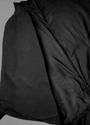 Ткань, материал, трикотаж черный