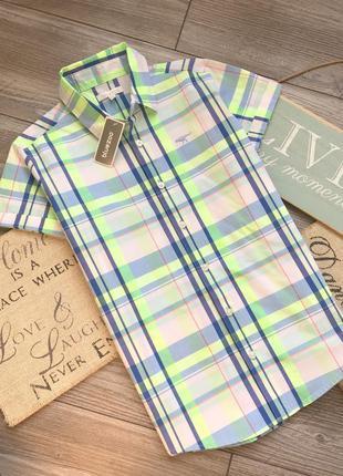 Рубашка новая bluezoo 9-10л