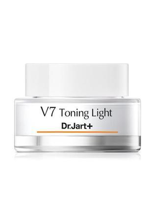 Тонизирующий крем для лица с витаминным комплексом dr.jart+ v7...