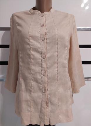 Льняная рубашка блузка лен 100%