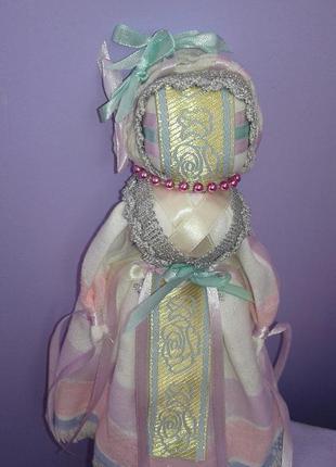 Нежная текстильная кукла в интерьер шебби шик