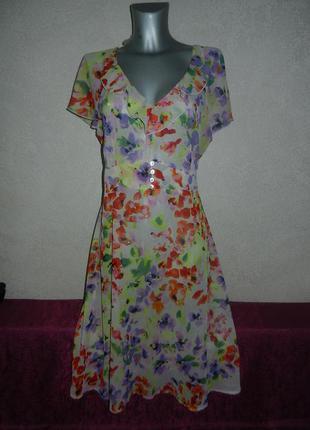 18/52*bhs*англия!легкое воздушное летнее нарядное платье,новое