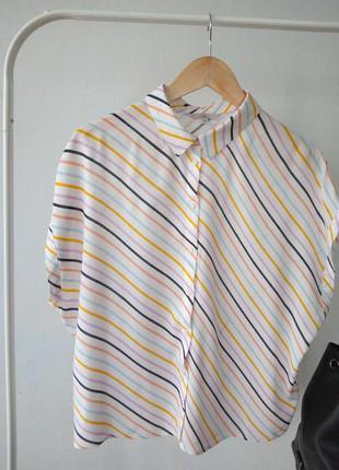 Стильная рубашка в яркую полоску от clockhouse