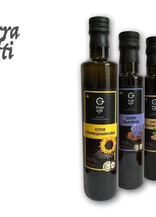 """""""Terra Gifti""""- масла холодного отжима"""