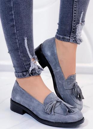 Шикарные женские туфли из натуральной кожи
