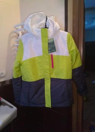 Лыжная термо куртка немецкая crane мембрана рост 146-152 разме...