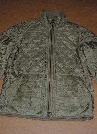 Barbour куртка на флисе