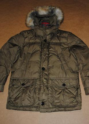 Tommy hilfiger куртка, пуховая парка