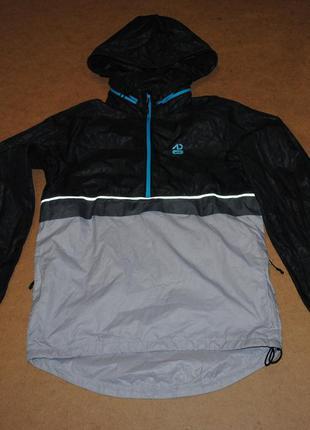 Nike куртка анорак с рефлективом найк