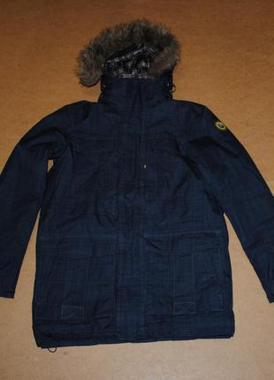 Ice peak парка куртка с мехом зима