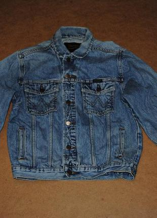Wrangler джинсовая куртка джинсовка вранглер