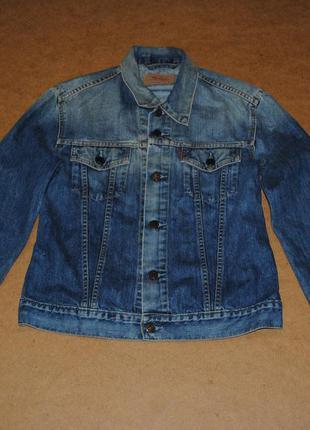 Levs куртка джинсовка джинсовая куртка мужская левайс