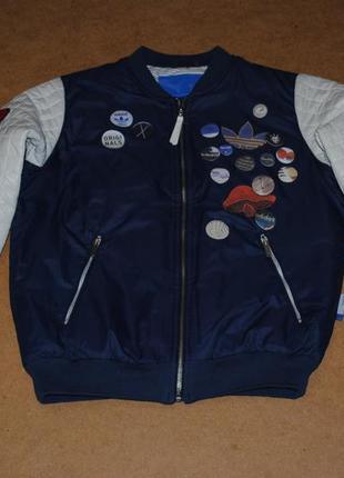 Adidas originals bomber адидас бомбер куртка