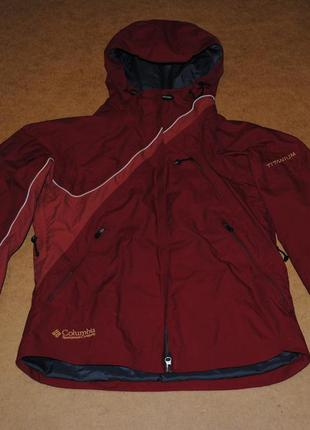 Columbia omni tech titanium jacket куртка женская лыжная коламбия