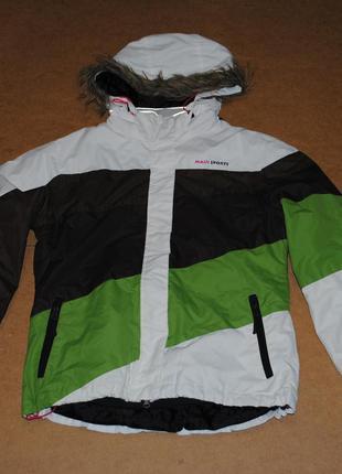 Maui sports горнолыжная сноубордическая куртка женская