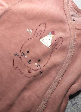 Человечек ромпер пижама комбинезон Kiabi