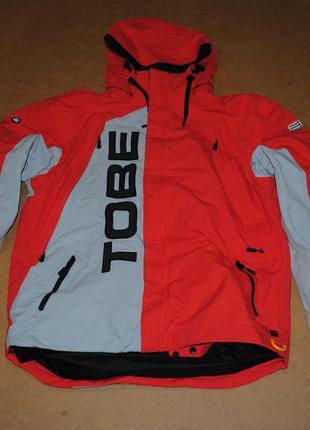 Tobe сноубордическая куртка мега крутая мужская