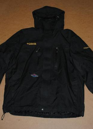 Columbia куртка 2в1 флис зима коламбия
