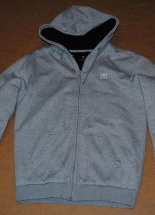 Dc куртка кофта диси на меху внутри