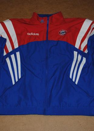 Adidas винтажная куртка ветровка адидас футбол футбольная