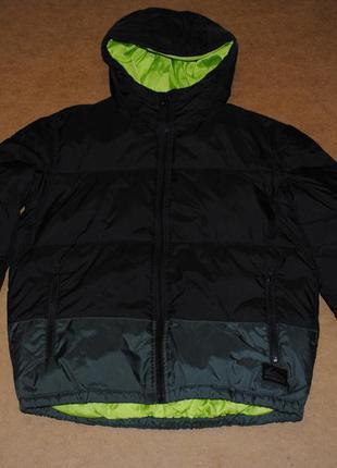Quiksilver пуховик женский куртка зима