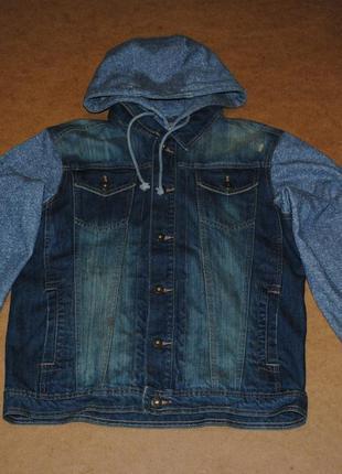 Dnm73 куртка джинсовка джинсовая куртка мужская стильная