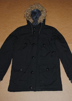 Next мужская теплая куртка парка на зиму зима