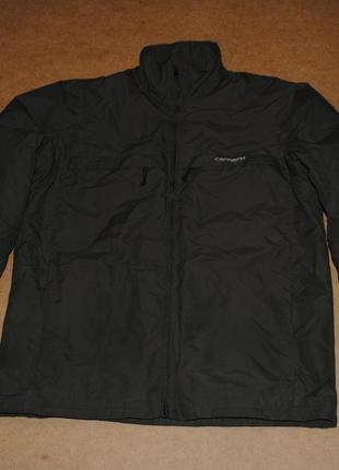 Carhartt мужская утепленная куртка на флисе