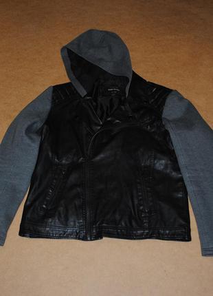 River island косуха кожанка мужская куртка стильная