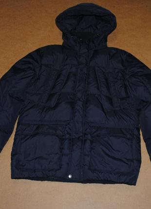 Crew теплая пуховая парка мужская куртка пуховик зима