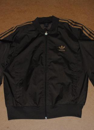 Adidas originals куртка бомбер адидас мужской