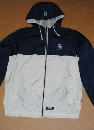 Crosshatch куртка ветровка мужская молодежная