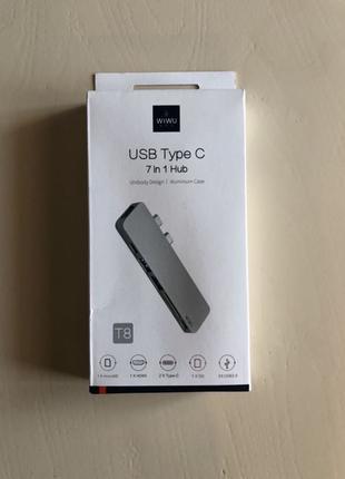 Перехідник USB Type-C WIWU