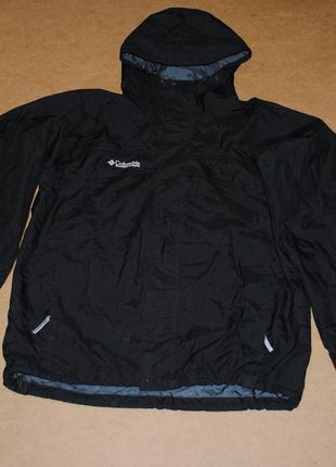 Columbia omni tech titanium jacket куртка штормовка мужская че...