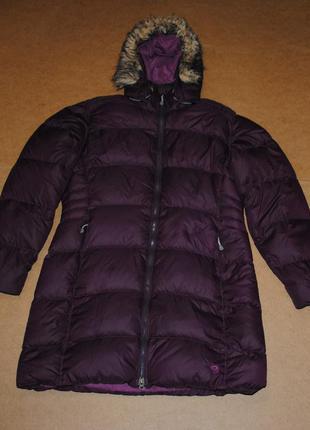 Mountain hardwear женский пуховик парка куртка зима