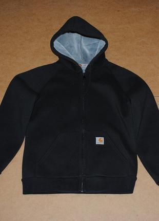Carhartt утепленная куртка кофта на меху кархартт мужская