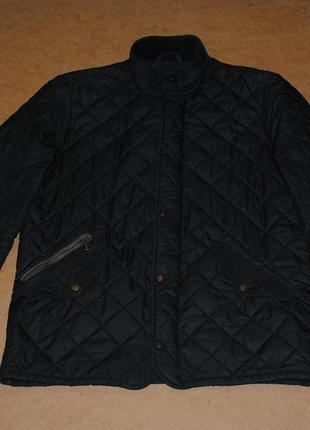 Barbour стеганая мужская куртка барбур фирменная