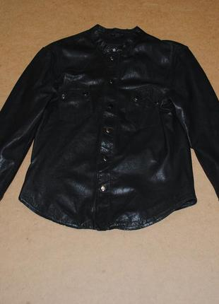 All saints натуральная кожаная куртка кожанка мужская