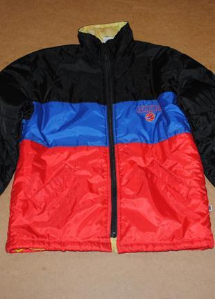 Nike винтажная куртка найк теплая оригинал