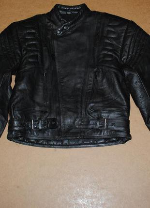 Косуха байкерская кожа куртка мото мужская