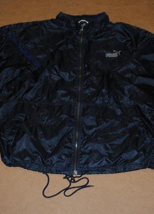 Puma king винтажная ветровка куртка пума кинг мужская
