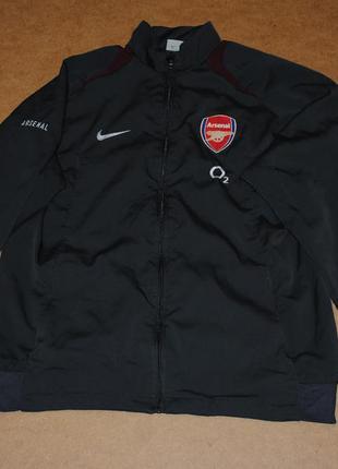 Nike arsenal найк арсенал куртка фирменная