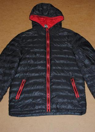 Куртка пуховик мужской осень-зима