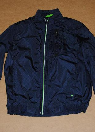 Hugo boss хуго босс green мужская куртка ветровка