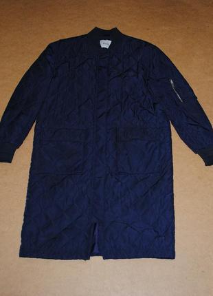 Envii мужской бомбер куртка удлиненный