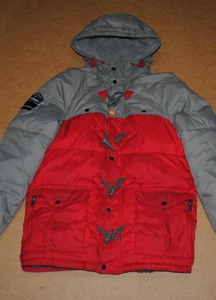 Superdry parka мега теплая парка куртка на зиму спердрай