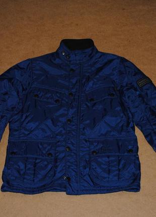 Barbour international стеганая куртка женская на флисе барбур