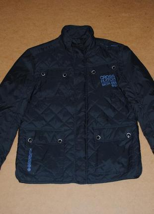 Crosshatch мужская стеганая куртка утеплена