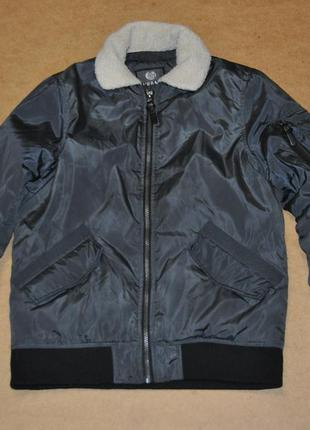 Urban sherpa бомбер куртка мужской с мехом
