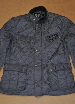 Barbour international мужская стеганая куртка барбур лимитед